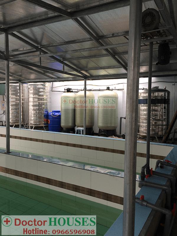 hệ thống xử lý nước giếng khoan 10m3