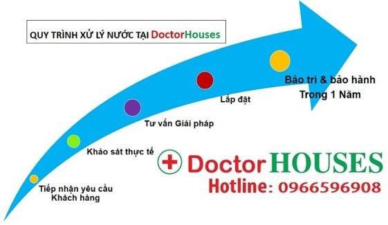 Quy trình xử lý nước chuẩn tại DoctorHouses