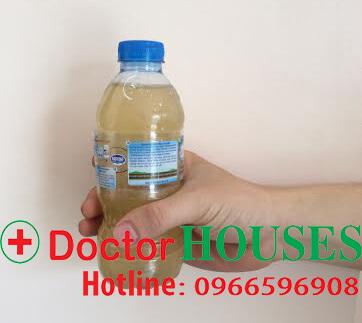 Xử lý nước giếng khoan nhiễm sắt phèn, canxi, nhà chú Sáu, Bắc Ninh