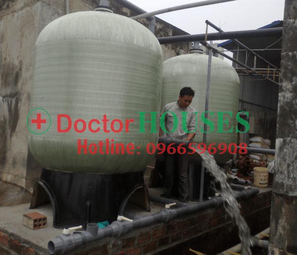 Hệ thống lọc nước sinh hoạt công suất lớn 10 m3/h