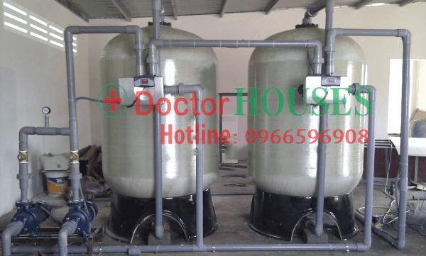 Hệ thống lọc nước sinh hoạt công suất lớn 20 m3/h