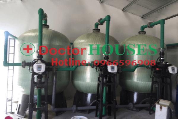 Hệ thống lọc nước sinh hoạt công suất lớn 30 m3/h