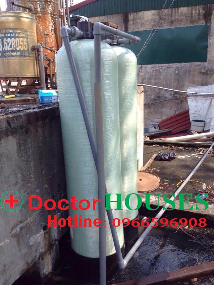 Bộ DH02 chuyên xử lý nước máy nhiễm sắt và mangan tại Minh Khai