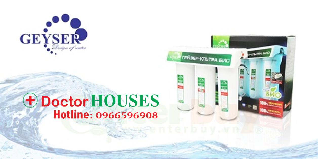 Doctorhouses chuyên cung cấp các loại máy lọc nước nhập khẩu, chính hãng