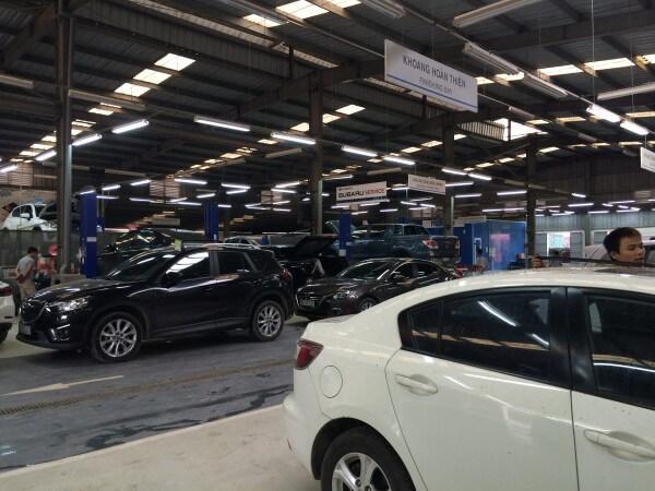 Trung tâm sửa chữa và bảo dưỡng ôtô của Anh.T
