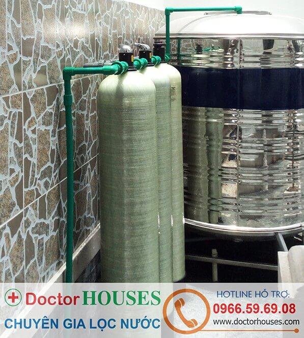 Bộ lọc nước máy sinh hoạt gia đình DH03 công nghệ Doctorhouses
