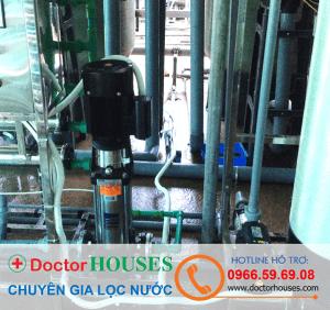 Bơm tăng áp của dây chuyên lọc nước tinh khiết nhập khẩu Ý