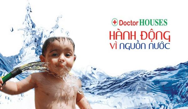 Cùng DoctorHouses chung tay bảo vệ nguồn nước