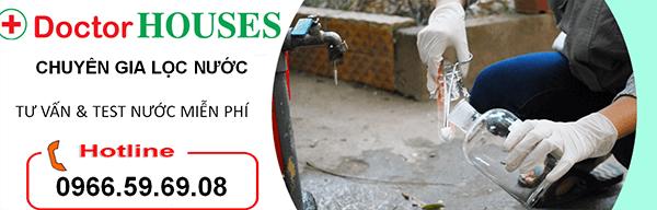 DoctorHouses tư vấn và test nước miễn phí