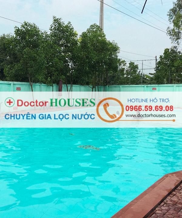 Lắp đặt hệ thống lọc nước bể bơi tại bể bơi Minh Tân, Phú Xuyên, Hà Nội