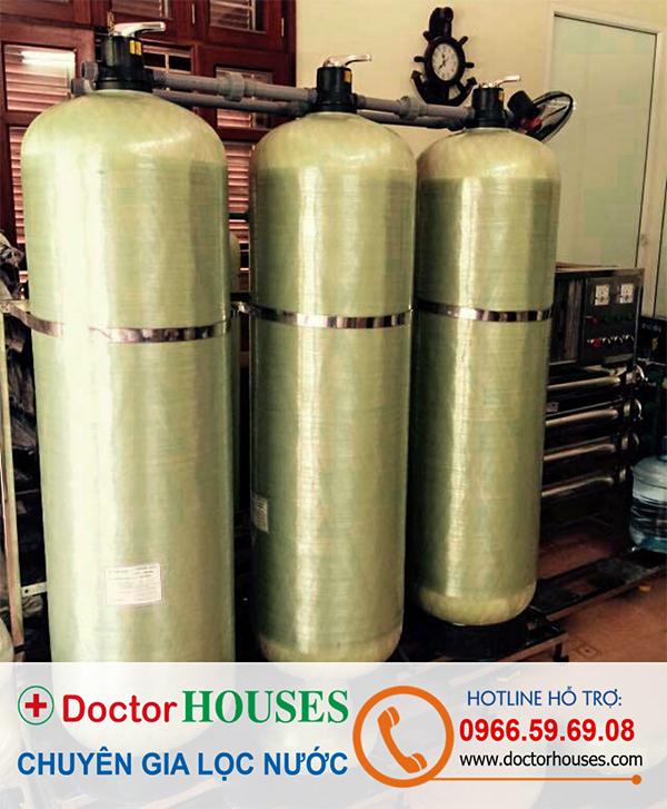 Hệ thống xử lý nước giếng khoan 6m3/h