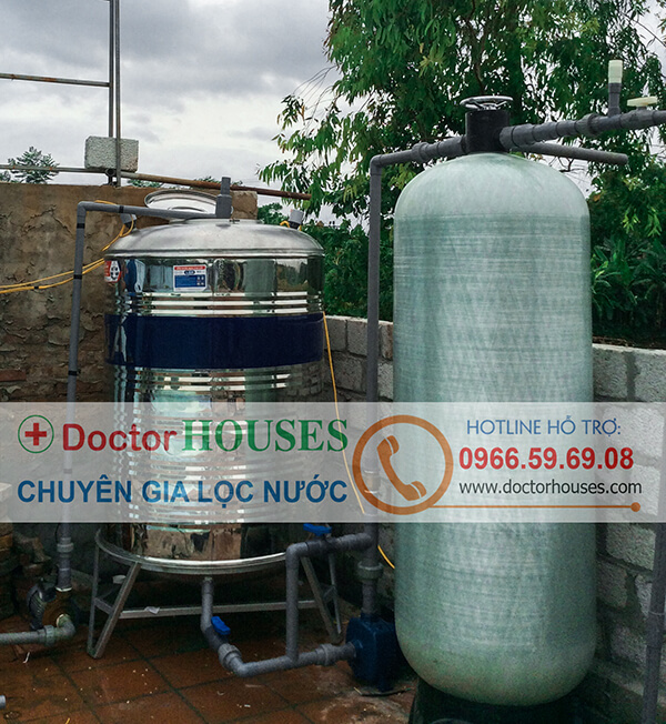 Hình ảnh thi công tại bể bởi Minh Tân: Hệ thống lọc nước bể bơi công nghệ DoctorHouses