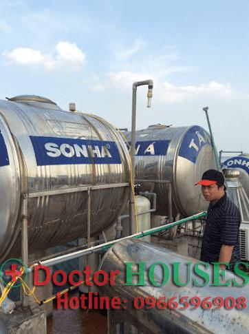 Lắp đặt hệ thống lọc nước DH-03 tại nhà Anh>h