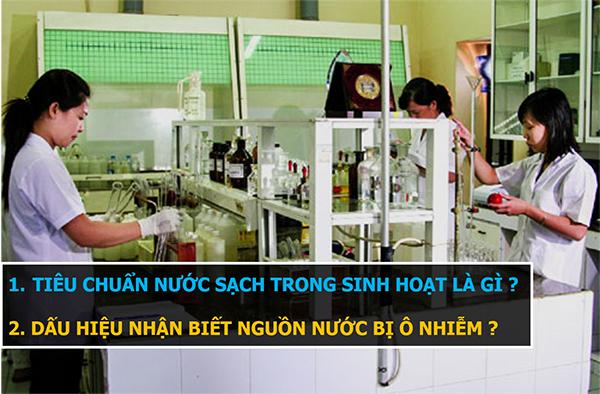 Bộ Y Tế đưa ra tiêu chuẩn nước sạch dùng trong sinh hoạt cho người dân QCVN 02:2009/BYT