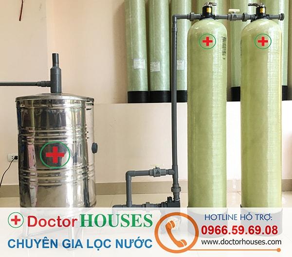 Thiết bị lọc nước giếng khoan sinh hoạt gia đình khử Sắt, Asen, Mangan, lọc trong, khử mùi – DHGK02