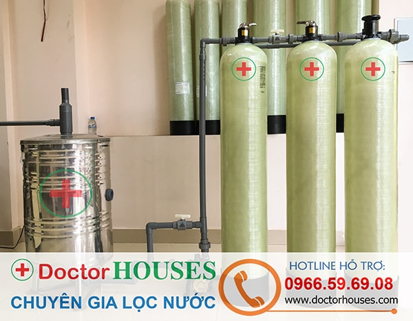 Thiết bị lọc nước giếng khoan sinh hoạt gia đình khử Canxi, Amoni, Asen, Sắt, Mangan, khử màu khử mùi – DHGK03