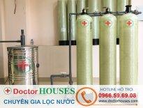 Thiết bị lọc nước giếng khoan sinh hoạt gia đình DHGK03 khử Canxi, Amoni, sắt, asen, mangan, khử màu, khử mùi, tạp chất hữu cơ