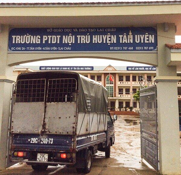 Trường PTDT nội trú huyện Tân Uyên, Lai ChâuTrường PTDT nội trú huyện Tân Uyên, Lai Châu