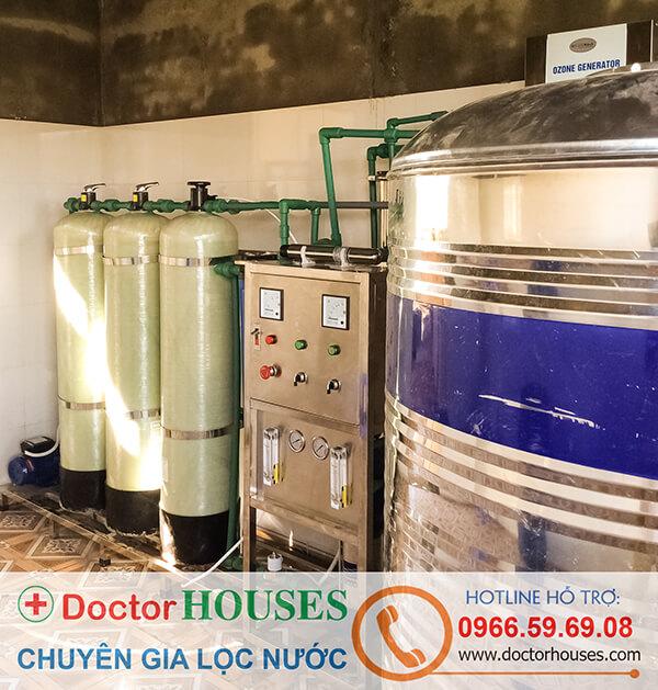 Dây chuyền lọc nước tinh khiết 500 lít/giờ tại Lai ChâuDây chuyền lọc nước tinh khiết 500 lít/giờ tại Lai Châu