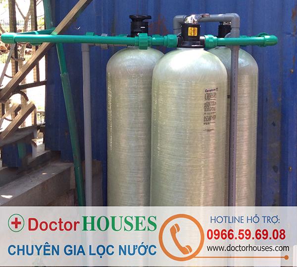 Bộ lọc nước giếng khoan sinh hoạt gia đình – tại nhà Chị Ngọc, Nam Định