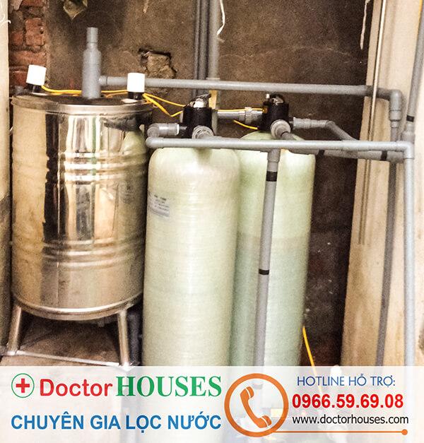 Bộ lọc nước DHGK 02 chuyên xử lý Sắt, Asen, Mangan