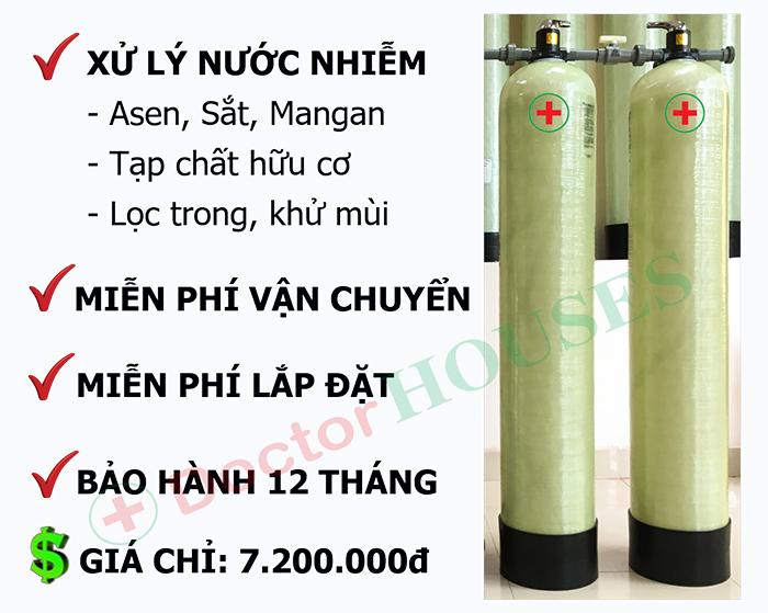 Thiết bị lọc nước máy sinh hoạt gia đình – DH02
