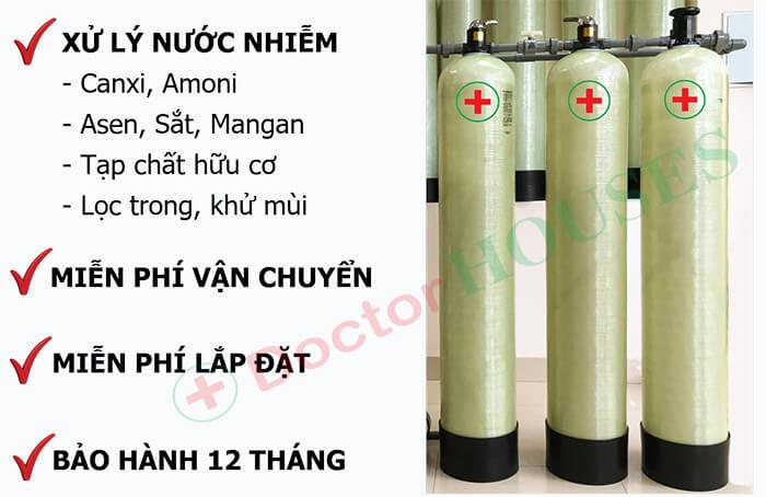 Bộ lọc nước máy sinh hoạt gia đình DH03