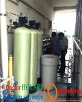 Dây chuyền lọc nước chạy thận tại bệnh viện bạch mai