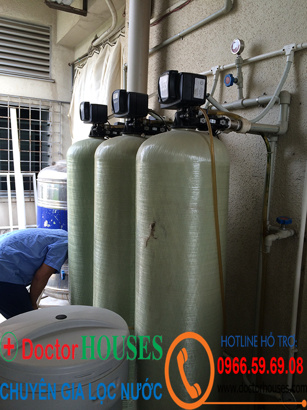 Công trình bảo trì hệ thống lọc nước lọc thận tại Bệnh viện Bạch Mai