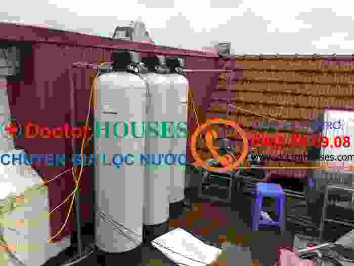 Xử lý nước máy nhiễm mangan, canxi, magie, sắt tại Bệnh Viện Đại Học Y Hà Nội