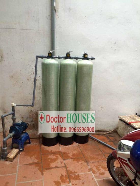 Hệ thống lọc nước giếng khoan gia đình