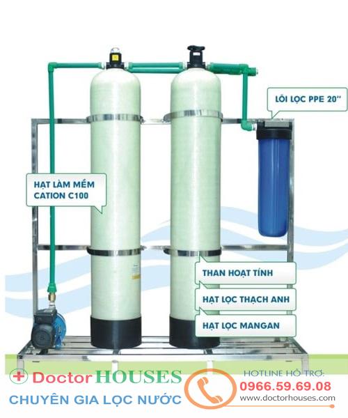 Máy lọc nước giếng khoan gia đình