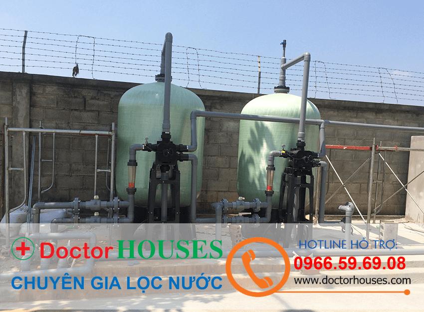 Hệ thống lọc nước giếng khoan công nghiệp 15m3/h