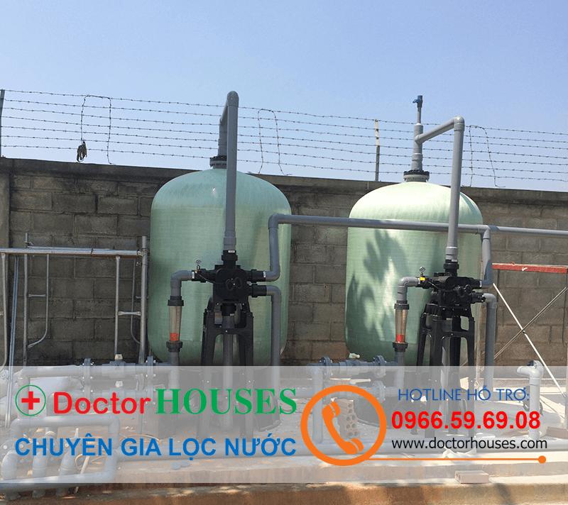 Lọc nước sinh hoạt công nghiệp công suất 350m3 ngày đêm