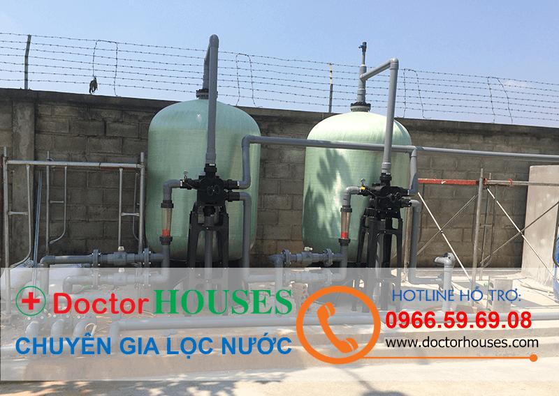 Modul xử lý nước giếng khoan công nghiệp Doctorhouses 15m3/ngày đêm