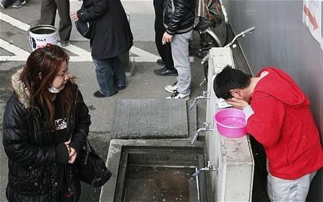 Nước nhiễm xạ