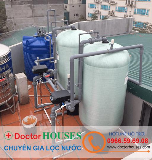 Hệ thống xử lý nước giếng khoan công nghiệp công suất 120m3/ngày đêm