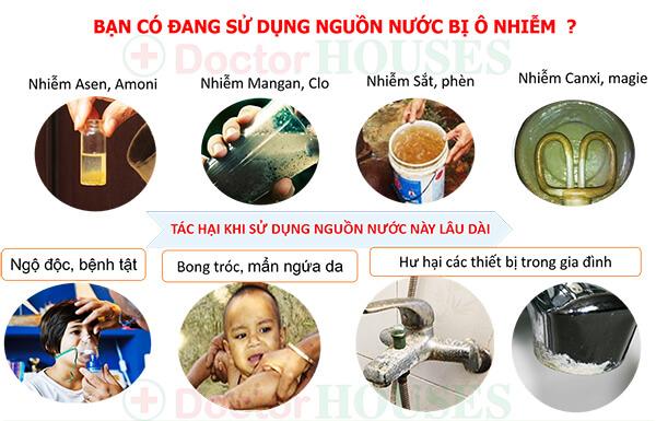 Giải pháp nào cho nguồn nước sinh hoạt ô nhiễm tại Hà Nội