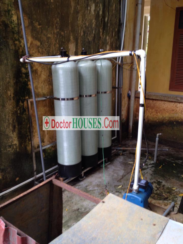 Xử lý nước sinh hoạt cao cấp cho trường học công suất 3m3/h