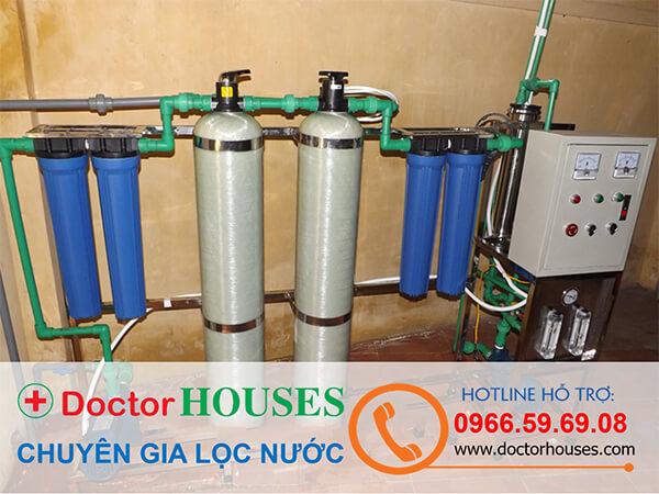 Giải pháp xử lý nước sinh hoạt cho bệnh viện, trường học, khu công nghiệp