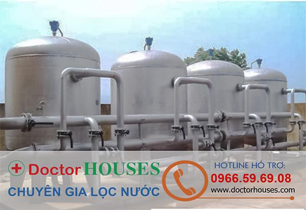Hệ thống lọc nước giếng khoan công nghiệp Doctorhouses công suất lớn