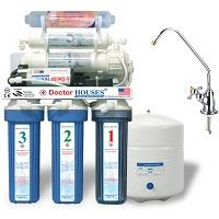 Máy lọc nước Doctorhouses RO 7 lõi không vỏ