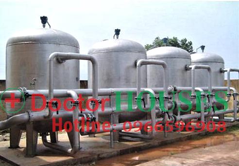 Hệ thống lọc nước giếng khoan công suất lớn dành cho khu công nghiệp