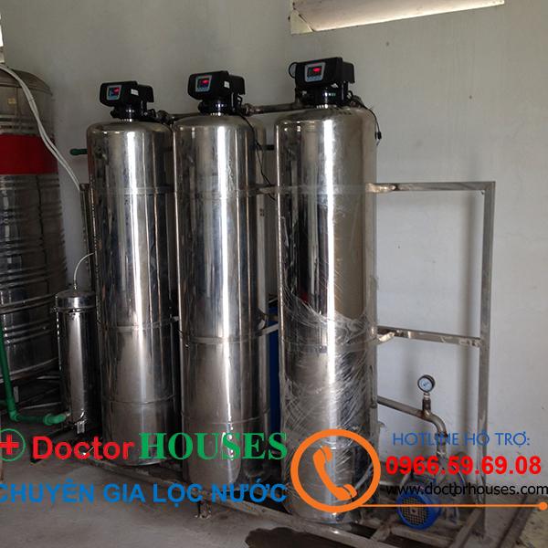 Lắp đặt dây chuyền lọc nước tinh khiết 1500 lít/giờ tại P. Quảng Hưng, TPThanh Hóa