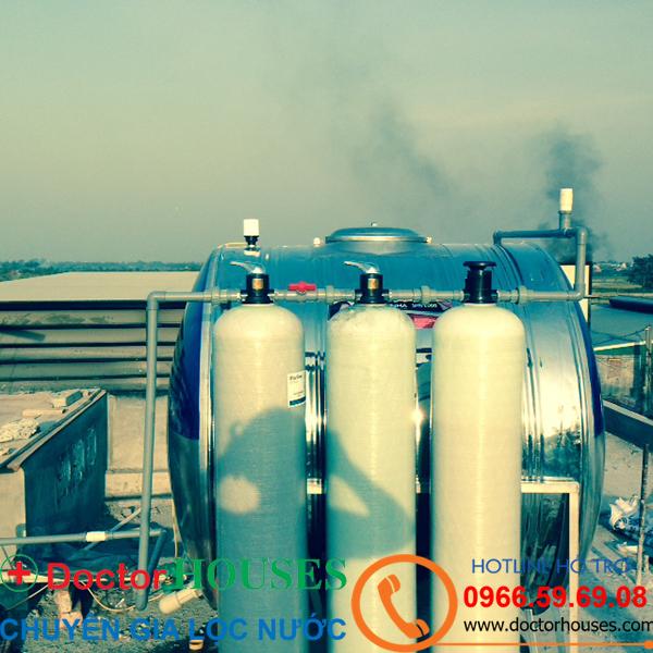 Xử lý nước giếng khoan nhiễm phèn sắt, asen tại Tỉnh Hà Nam