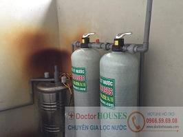 Xử lý nước giếng khoan tại Thái Phúc – Thái Thụy – Thái Bình