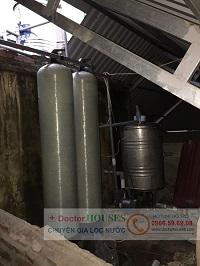 Xử lý nước giếng khoan tại 101A An Đào – Trâu Quỳ – Gia Lâm