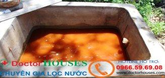 Phương pháp xử lý nước giếng khoan tại Phường Định Công