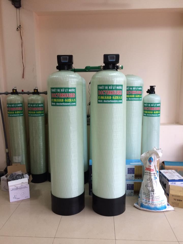 Hệ thống lọc nước sinh hoạt công suất lớn cho các trung tâm spa