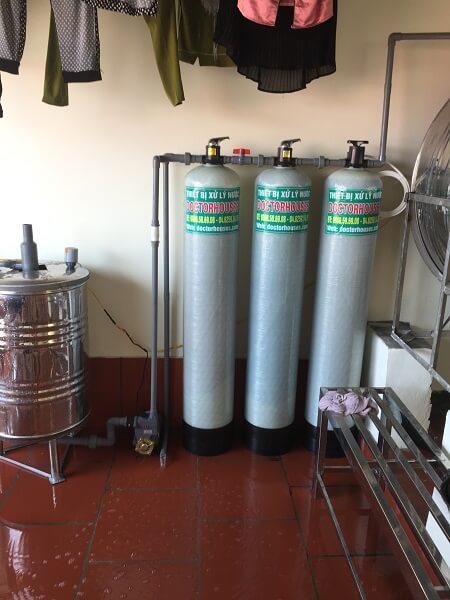 Thiết bị xử lý nước giếng khoan tại Đại Kim - Hoàng Mai - HN